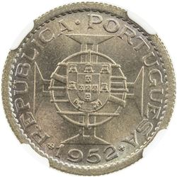 MACAO: Portuguese Colony, 50 avos, 1952. NGC MS66