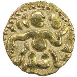 CEYLON (MEDIEVAL): Anonymous, ca. 990-1070, AV pala ( 1/4 kahavanu) (1.06g). VF-EF