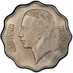 IRAQ: Ghazi I, 1933-1939, 10 fils, 1938-I/AH1357. PCGS MS64