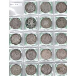 AUSTRIA: COLLECTION of 30 Maria Theresa restrike thalers