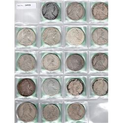 AUSTRIA: COLLECTION of 18 Maria Theresa restrike thalers