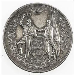 GERMANY: Pre-Unification, AR medal (45.59g), 1865