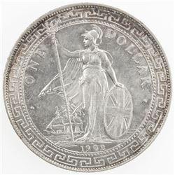 GREAT BRITAIN: AR trade dollar, 1902-B. UNC
