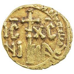 SICILY: William (Guglielmo) II, 1166-1189, AV tari (1.49g) (Messina), AH57x. VF
