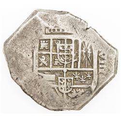SPAIN: Felipe IV, 1621-1665, AR 8 reales (27.31g), ND(1622-63)-S. F-VF