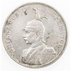 GERMAN EAST AFRICA: Wilhelm II, 1888-1918, AR 2 rupien, 1894-A. VF