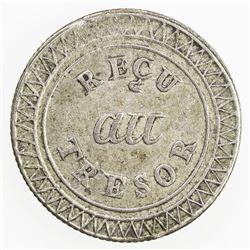 MAURITIUS: George IV, 1820-1830, AR 25 sous, ND (1822). EF