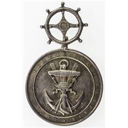 BRAZIL: AR medal (14.87g), 1874. AU