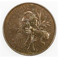 BRAZIL: AE medal (65.17g), 1894. EF