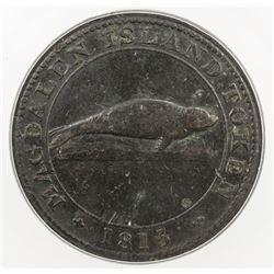 CANADA: Magdalen Island, AE penny token, 1815. ICG F12