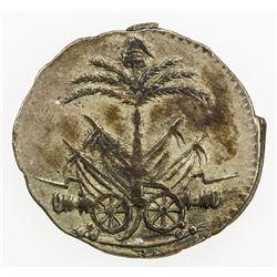 HAITI: Western Republic, AR 12 centimes, AN 10 (1813). EF