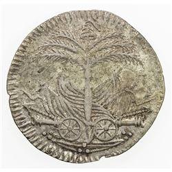 HAITI: Western Republic, AR 25 centimes, AN 10 (1813). VF-EF