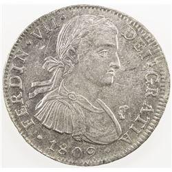 MEXICO: Fernando VII, 1808-1821, AR 8 reales, 1809-Mo. AU