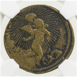 MEXICO: Republic, 1/8 real, 1846. NGC VF30