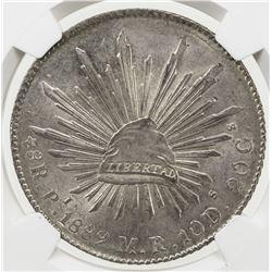MEXICO: Republic, AR 8 reales, 1889-Pi