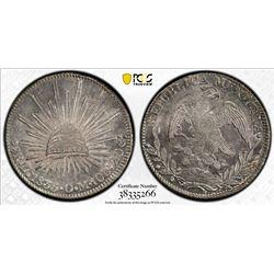 MEXICO: Republic, AR 8 reales, 1835-Zs. PCGS MS62