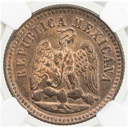 MEXICO: Republic, AE centavo, 1897-Mo