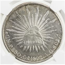 MEXICO: Republic, AR peso, 1902-Cn
