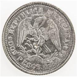 MEXICO: Revolutionary Issue, AR 2 pesos, Guerrero, 1914, KM-643, GB-212, EF