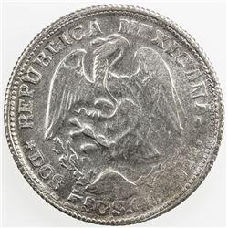 MEXICO: Revolutionary Issue, AR 2 pesos, Guerrero, 1914, KM-643, GB-215, EF