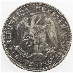 MEXICO: Revolutionary Issue, AR 2 pesos, Campo Morado, Guerrero, 1915. EF