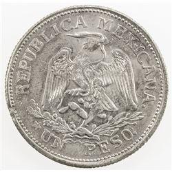 MEXICO: Revolutionary Issue, AR peso, Taxco, Guerrero, 1915. AU