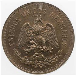 MEXICO: Estados Unidos, AE 5 centavos, 1927-Mo