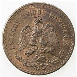 MEXICO: Estados Unidos, AE 5 centavos, 1927-Mo. UNC