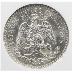 MEXICO: Estados Unidos, AR 50 centavos, 1921-Mo