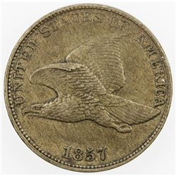 UNITED STATES: 1 cent, 1857