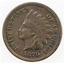 UNITED STATES: 1 cent, 1870
