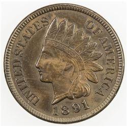 UNITED STATES: 1 cent, 1891