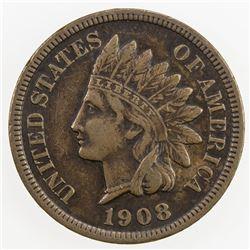 UNITED STATES: 1 cent, 1908-S