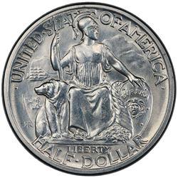 UNITED STATES: AR 50 cents, 1936-D. PCGS UNC