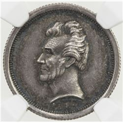 UNITED STATES: AR medalet, ND (1833-34). NGC MS63