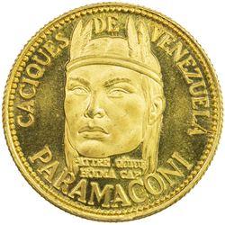 VENEZUELA: Republic, AV token (2.96g), ND. BU