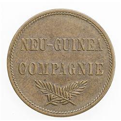 GERMAN NEW GUINEA: Wilhelm II, 1888-1918, AE 2 pfennig, 1894-A. EF-AU