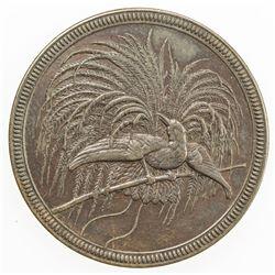 GERMAN NEW GUINEA: Wilhelm II, 1888-1918, AE 10 pfennig, 1894-A. EF