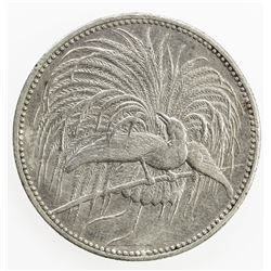 GERMAN NEW GUINEA: Wilhelm II, 1888-1918, AR mark, 1894-A. VF