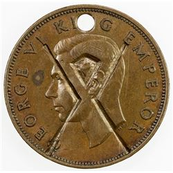 NEW ZEALAND: George VI, 1936-1952, AE penny, 1946. EF
