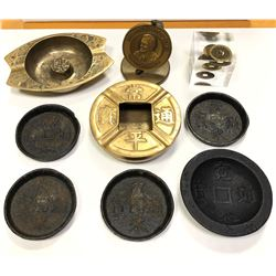 WORLDWIDE: ASIA: LOT of 8 diverse items from Japan, China, Korea and Viet Nam