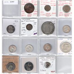 WORLDWIDE: LOT of 14 coins from Latin America, retail value $750