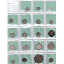 WORLDWIDE: LOT of 26 diverse and mostly scarce types
