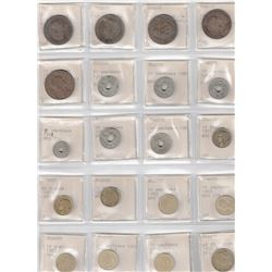 WORLDWIDE: LOT of 550 diverse world coins, retail value $875