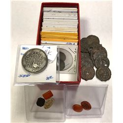 WORLDWIDE: LOT of 38 coins, retail value $600
