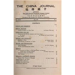 China Society of Science and Arts. The China Journal