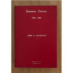 Davenport, John S. European Crowns, 1700-1800