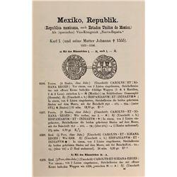 Fonrobert, Jules.Sammlung uberseeischer Munzen und Medaillen; Ein Beitrag zur Mu