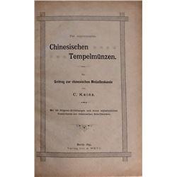Kainz, Carl. Chinesische Tempelmunzen