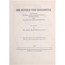 Kennepohl, Karl. Die Muenzen von Osnabruck